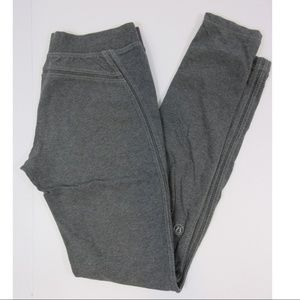 Lululemon French Terry Pants Heathered Gray Narrow